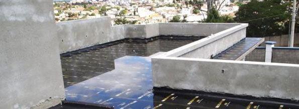 impermeabilização de terraços transitável