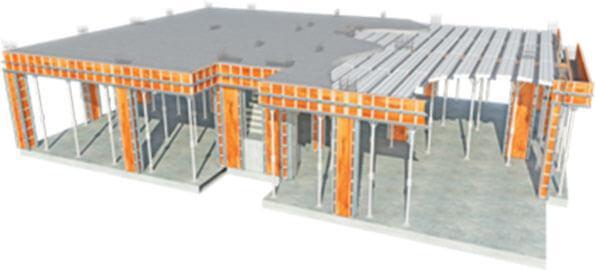 laje mista de aço e concreto